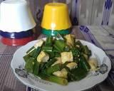 Oseng ulated tahu(kembang bawang-sunda) langkah memasak 3 foto