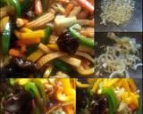 Tumis Sayur Oriental langkah memasak 3 foto