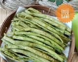 521. Cheese Stick Sawi #SeninSemangat langkah memasak 7 foto