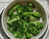 Brokoli Sapi Lada Hitam langkah memasak 1 foto