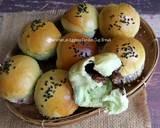 Eggless Pandan Cup Bread langkah memasak 19 foto