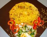 Stir fried rice with minced meat and sunny side up egg recipe step 4 photo