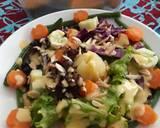 Salad dressing dg labu parang langkah memasak 4 foto