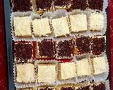 Cake potong langkah memasak 6 foto
