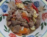 Asem - asem daging langkah memasak 2 foto