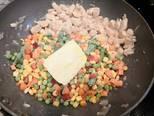 Glutén- és tejmentes tárkonyos csirkemell ragu, spagettivel recept lépés 3 foto