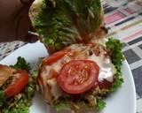 Leftover shredded meat burger...😋😋