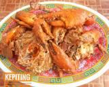 Kepiting Saos langkah memasak 3 foto