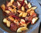 Rica Rica Daging sapi kentang pedes langkah memasak 2 foto