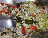 Tumis Bunga Pepaya Teri langkah memasak 2 foto