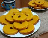 Kue lumpur labu kuning langkah memasak 11 foto