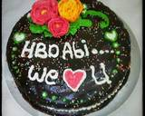 #14 RAINBOW Checkerboard Cake #seninsemangat langkah memasak 9 foto