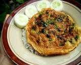 Telur Dadar langkah memasak 5 foto