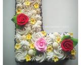 "Monogram/ Letter ""L"" Cake langkah memasak 7 foto"