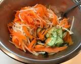 Salad Tuna dan Sayur 3 warna langkah memasak 5 foto