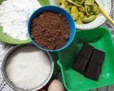 Brownies Alpukat tabur Almond langkah memasak 1 foto