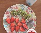 Smoothie strawberry kiwi yogurt #homemadebylita langkah memasak 1 foto