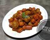 Bakso Sosis Saus Tiram langkah memasak 4 foto