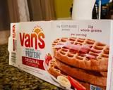 Vegan Ice Cream-Topped Waffle