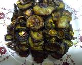 Karela baingan fry recipe step 5 photo