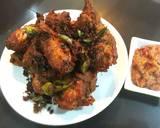 Ayam goreng berempah malaysia langkah memasak 6 foto
