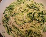 Garlic parmesan ZOODLES recipe step 4 photo