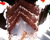 Basecake Kue tar ato kue ultah langkah memasak 8 foto