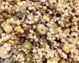 Sałatka z perłową kaszą kuskus i kuruczakiem krok przepisu 3 zdjęcie