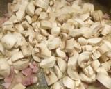 Mushroom and pancetta bruschetta recipe step 2 photo
