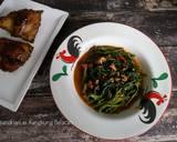 Kangkung Belacan langkah memasak 3 foto
