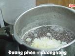 Cách nấu CHÈ ĐẬU ĐEN Nhanh Mềm, Ngọt Bùi, Ngon Sánh Mịn bước làm 3 hình