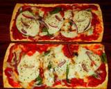 Mike's 10 Minute Salt Brick Pizza Margheritas recipe step 7 photo