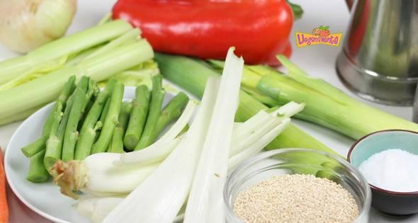 1 Sopa De Verduras Y Quinoa