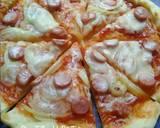 Pizza teflon (dough tanpa susu) langkah memasak 7 foto
