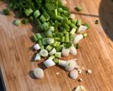 Lemon sole, capers, prawns and mangetout recipe step 1 photo