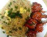 Quick smoky fried rice recipe step 3 photo
