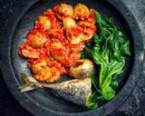 Samba Lado Jariang(jengkol) langkah memasak 6 foto