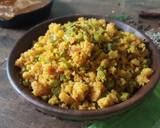 Kothavarangai Paruppu Usili| Cluster-Beans Steamed mixed Lentil recipe step 8 photo