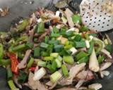 Oseng Pindang Tongkol Toge langkah memasak 10 foto