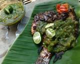 Mujair Bakar Sambal Ijo langkah memasak 6 foto