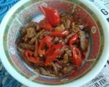 Daging Empal Suwir Masak Sambel Bawang langkah memasak 5 foto