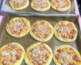 Pizza mini no ribet langkah memasak 3 foto