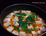 Sup tahu pakcoy pedas (sundubu jjigae versi Saya) langkah memasak 5 foto