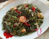 Tumis Daun Waluh/Labu Siam Muda langkah memasak 5 foto