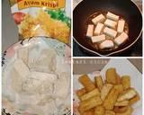 Tahu crispy saus mentega langkah memasak 2 foto