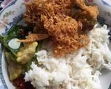 Ayam Goreng Kremesan langkah memasak 6 foto
