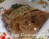Egg Dumpling Daun Kelor langkah memasak 1 foto