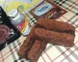Brownis chocolatos langkah memasak 7 foto