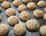 Barazek (Kue Kering Wijen) langkah memasak 6 foto