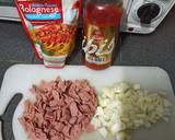 Spaghetti Brule langkah memasak 1 foto